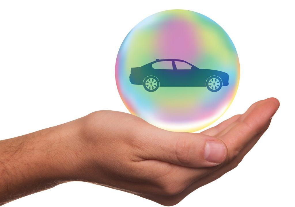 Bulle de protection, assurance automobile
